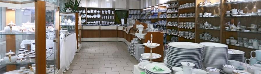Podniková prodejna v Klášterci