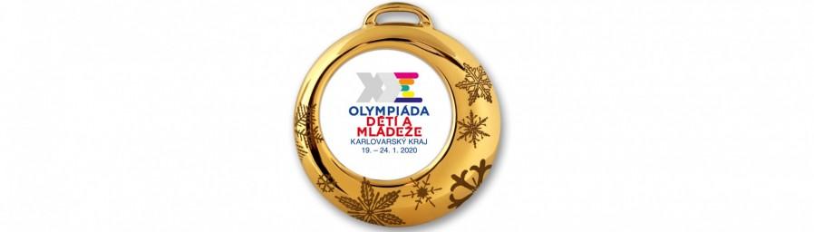 Medaile Olympiády dětí a mládeže bude z porcelánu
