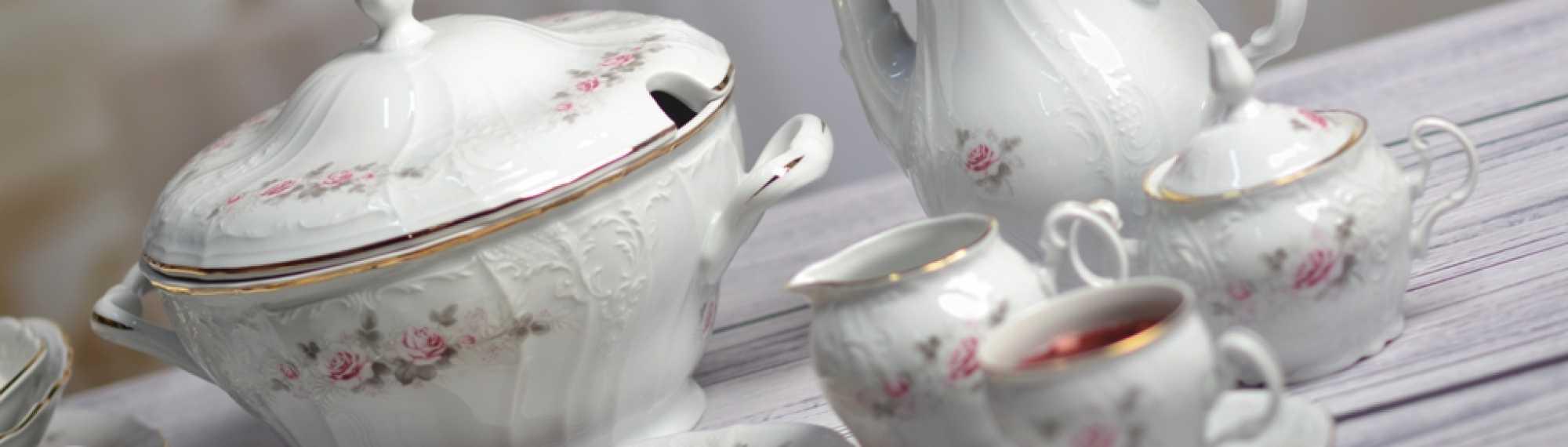 Porcelán do domácnosti